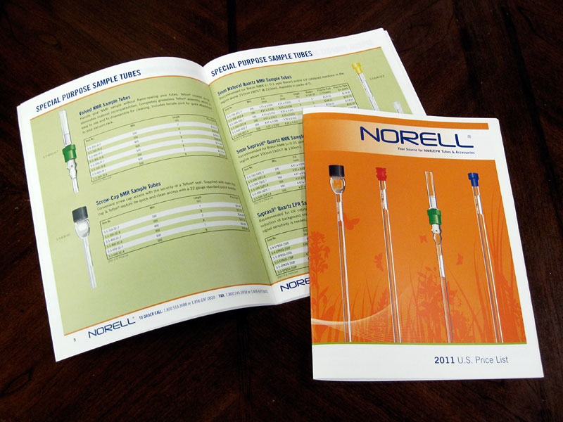 Product Catalog for Norell, Inc.