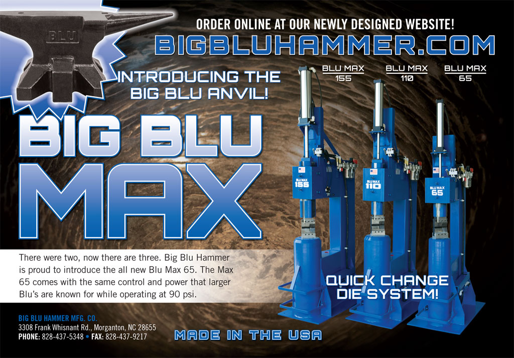 Print Ad for Big Blu Hammer