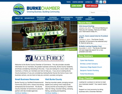 Chamber of Commerce Website Launched