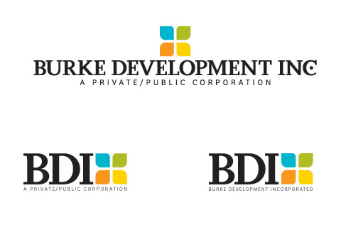 Logo design for Burke Development, Inc.