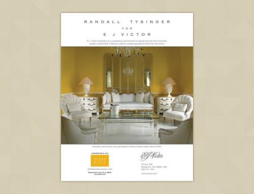 E.J. Victor Print Ad