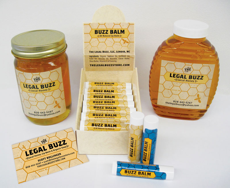 Packaging Design for Legal Buzz