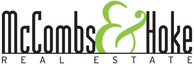 Logo design for McCombs & Hoke Real Estate