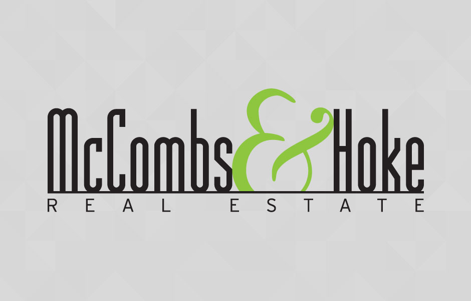 Logo design for McCombs & Hoke Real Estate
