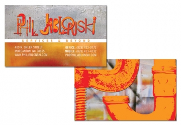 Business Card Design for Phil Jablonski