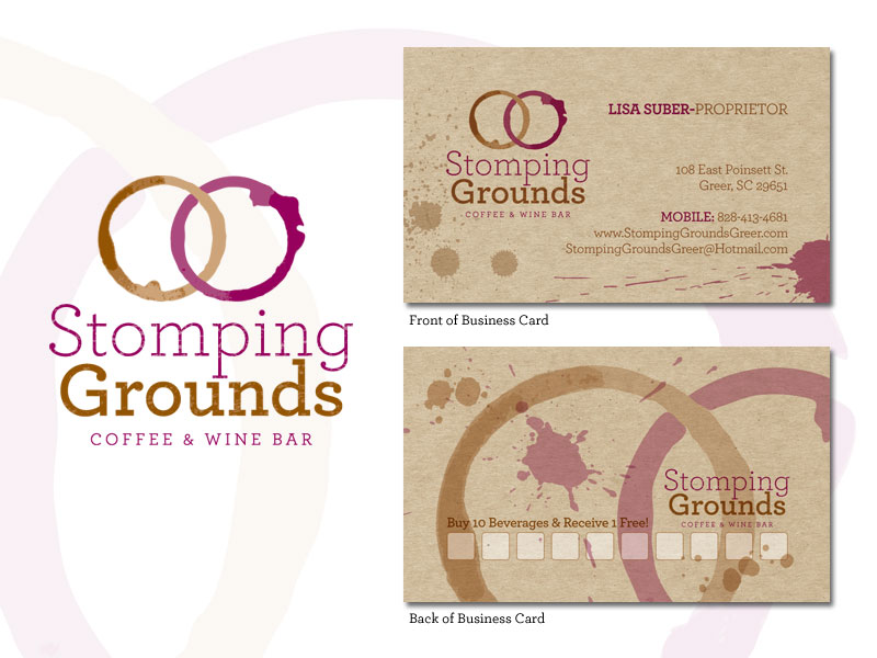 Logo design for Stomping Grounds