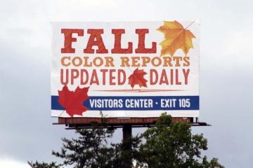Billboard design for Burke County TDA