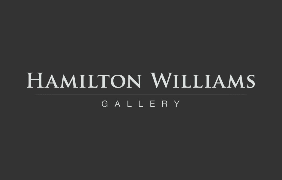 Custom Logo for Hamilton Williams Gallery